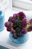 Allium and Hedera bouquet