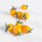 Solanum lycopersicum, gele mini pomodori tomaat