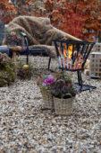 Winter outdoor living