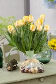Tulipa Foxy Foxtrot bulb bouquet