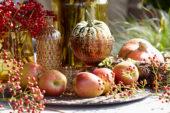 Appels, bessen en pompoenen