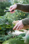 Maak je eigen kerstkrans