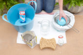 Necessities to make cement planters