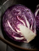 Brassica oleracea var. rubra, red cabbage