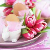 Easter breakfast arrangement