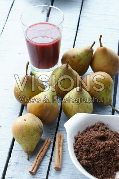 Ingredienten voor stoofperen