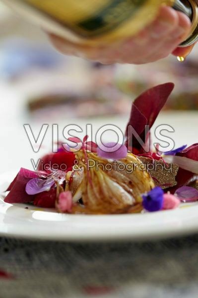 Red beetroot dish