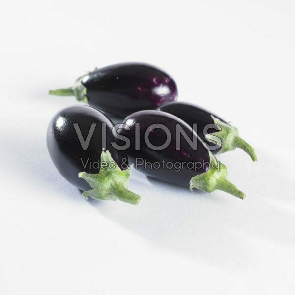 Solanum melongena, mini eggplant