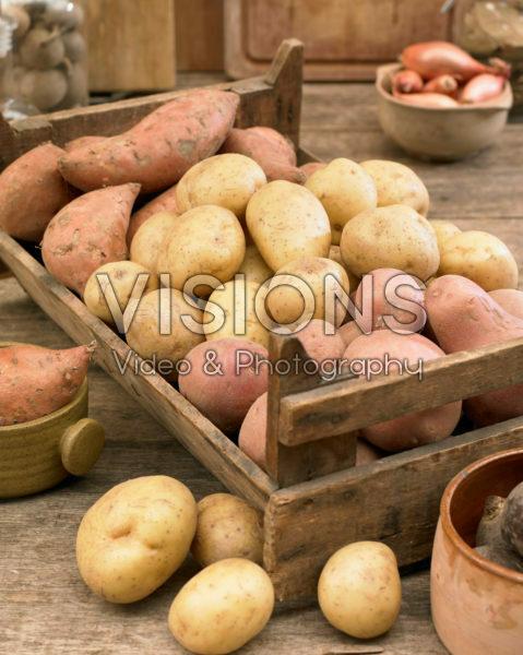 Potato assortment