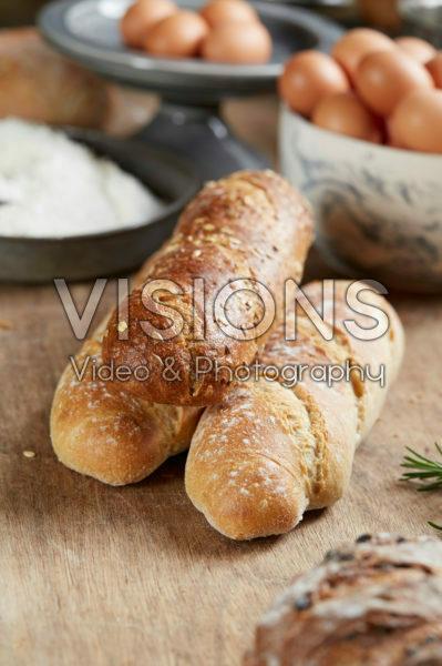 Vers stokbrood