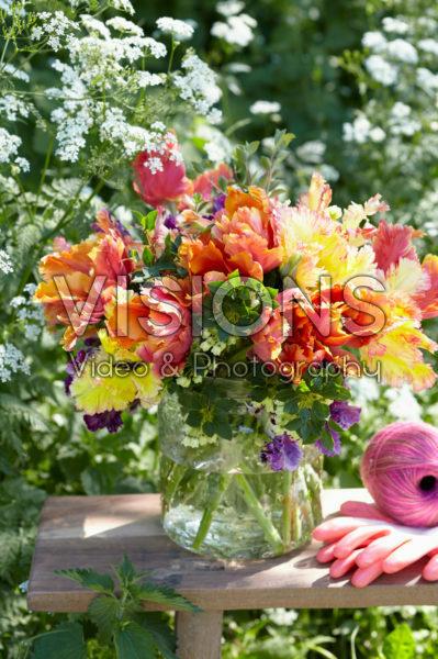 Tulipa Parrot bouquet