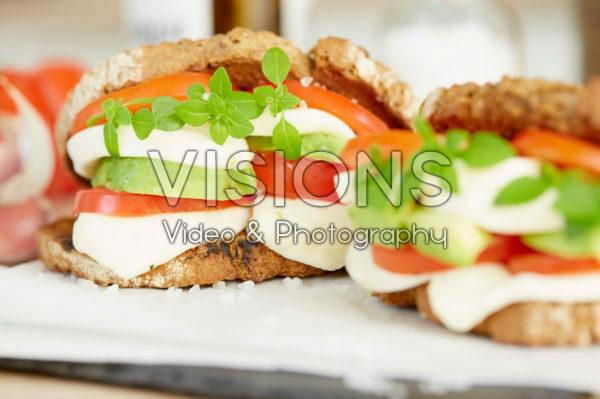Basilicum sandwich