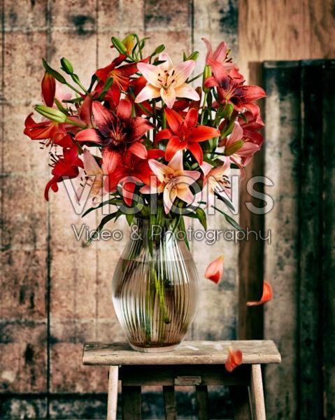 Lilium mixed bouquet