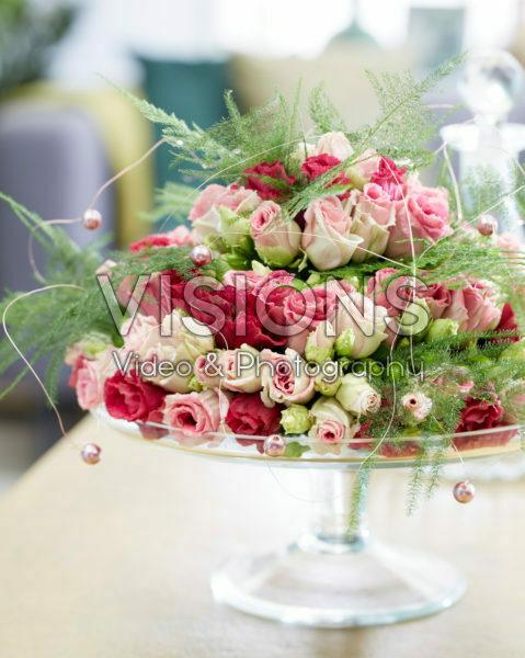 Bloemen arrangement pastel