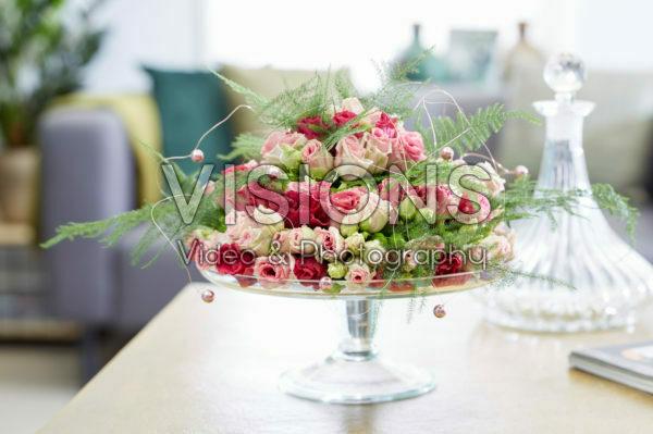 Floral arrangement pastel