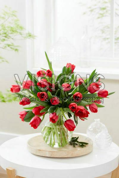 Tulipa Ile de France boeket