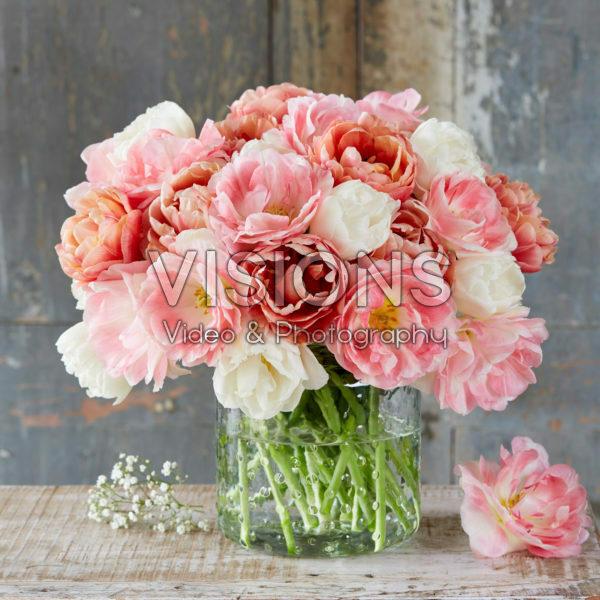 Tulipa Bridal Bouquet mix